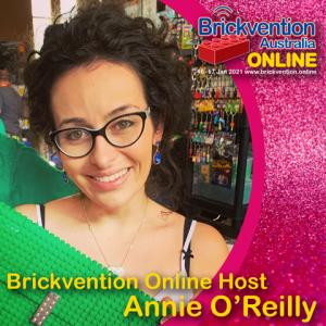 Brickvention Online Host Annie